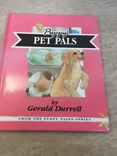 Andrex Puppy's Pet Pals by Gerald Durrell, Mint condition hardback-1993 vintage