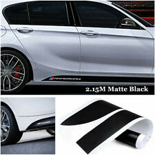 2x 2.15M Performance M Side Skirt Stickers Car Decals Graphics Black for BMW