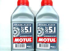 2x 500ml Motul DOT 5.1 Bremsflüssigkeit Break Fluid Auto Motorrad synthetisch