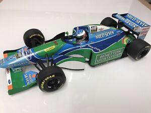 1/18 Minichamps Benetton B194 Michael Schumacher Monaco G.P.