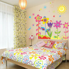 Removable Wall Stickers Butterfly Flower DIY Vinyl Decal Art Mural Home Kid Room