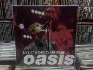 Oasis - Live at Wembley Arena - LP LA CUEVA MUSICAL  Argentina