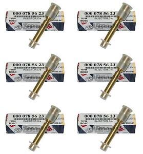 Mercedes 190E Bosch Fuel Injectors 62274 0000785623 Set of 6