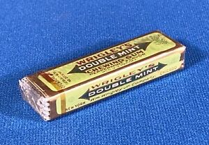 Vintage Wrigley's Double Mint SEALED Pack of Chewing Gum