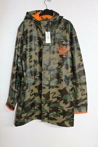 Polo Ralph Lauren Camo Bape Style Waterproof Coat, Hood, XL, Brand New