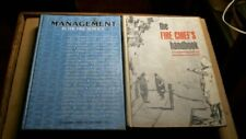 2 Fire Chief Management BOOKS