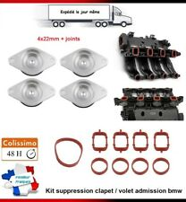 KIT SUPPRESSION CLAPET/VOLET BOUCHON D'ADMISSION 4X 22MM BMW E46 320d E83 X3