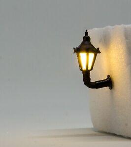 Wandlaterne Laterne N ca. 17 mm LED, 5 Stück mit Widerständen für 12-14 Volt
