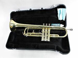 JUPITER JTR-300 Brass Classical Jazz Trumpet w Carry Case & Valve Oil NEW