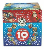 BRAND NEW OFFICIAL Disney PIXAR My little library chest box with 10 books set