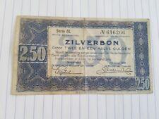 Nederland , Zilverbon 2,5 gulden 1938 , serie BL 616266