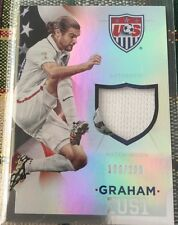 2015 Panini US National Team Soccer Graham Zusi Jersey Card 109/299