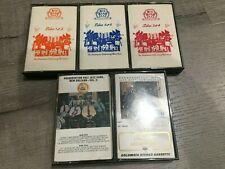 Big Band Jazz & Preservation Hall Jazz Band New Orleans - 5 Cassette Tape Lot