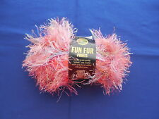 Lion Brand Fun Fur Prints Yarn 1.5 oz 57 Yards Mango