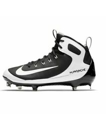 Nike Alpha Huarache Elite Baseball Cleats Black White 923428-011 Men's Sz 10 NEW