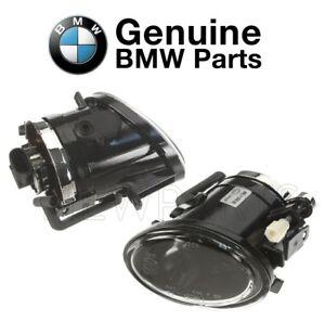 Pair Set of Front Left & Right Fog Lights M Technic Genuine For BMW E39 E46
