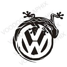 """VOLKSWAGEN VW extra grande de 17"""" adhesivos con el logotipo X2 Transporter T5 T4 caravanas"""