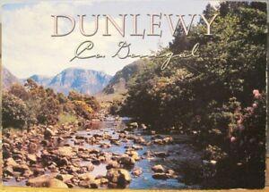 Irish Postcard DUNLEWY Glen Stream County Donegal Ireland John Hinde 2/DL-023