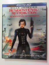 Resident Evil Retribution 3D Blu-ray Region Free Lenticular Slipcover Sealed