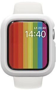 Bumper Case Compatible with Apple Watch Series 3 / 2 / 1 - [42mm] White