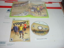 FIFA STREET 3 soccer game complete in case w/ Manual for XBOX 360