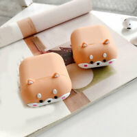 Cute AirPods Case Silicone Protective Cover 3D Cartoon For Apple AirPod 2 & 1