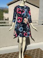 Irregular Ted Baker Floral Dress with Bow 4=US12