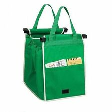2/4Pcs Reusable Eco Grocery Cart Foldable Shopping Bags Trolley Tote Storage Bag