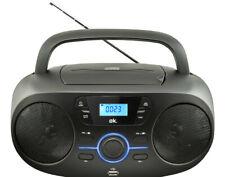 OK. ORC 330-B Tragbarer Stereo CD/MP3/USB Radiorecorder Schwarz