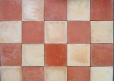 Quarry tiles Buff and Red 6x6
