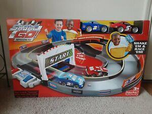 Fisher Price Shake 'N Go Speedway NEW-UNOPENED BOX! .
