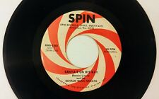Bonnie Leslie - Santa's on His Way / Candy Cane Lane Spin Records 45 rpm