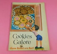 Vintage General Foods Corp Cookies Galore Home Baked Are Best Booklet Cookbook