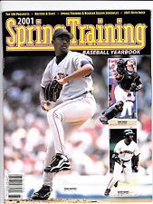 2001 Spring Training Yearbook -  Pedro Martinez, Barry Bonds, Mike Piazza