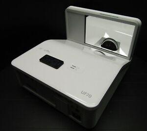 SMART UF70 3000 ANSI Lumens DLP Ultra Short Throw HDMI 1080i Projector 1117 Hrs
