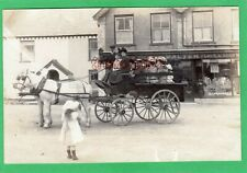 More details for coach & horses walters shop square bradworthy nr holsworthy rp pc unused ac353