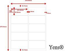 Yens®  100 Sheets 1000 Labels 10up Address Labels Size