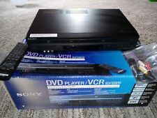New listing Sony Slv-D281P use to transfer Dvd Vhs Player 4 Head with oem remote, in box!