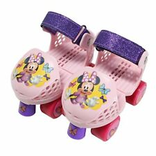 Playwheels Disney Minne Rollerskate Junior Size 6-12 with Pink