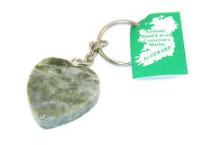 Keyring Heart Connemara Marble Key Chain Irish products Green 7010A
