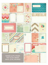 Project Life SUMMER 60-PACK Themed Cards scrapbooking 380232