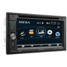 Nesa NS-651 2-DIN Multimedia Source Unit w/ DVD  USB & Bluetooth 4.0 New NS651