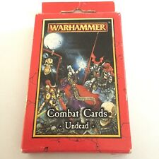 Vintage Warhammer Combat Cards Undead Deck Mint Condition 1999 Games Workshop