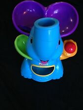 Blue Playskool Poppin' Park Elefun Elephant Busy Ball Popper Musical Educational