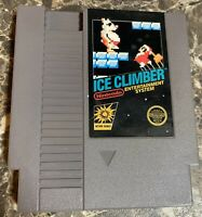 Ice Climber Nintendo NES 1985 Cartridge Only 5 Screws Cleaned Used