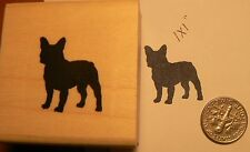 French bulldog rubber stamp P51