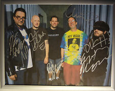 SIGNED BLACK FLAG AUTOGRAPHED 2013 FLAG PHOTO ALL 5 W/PICS