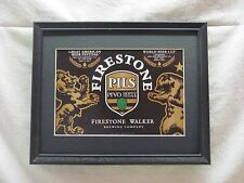 FIRESTONE PILS     BEER SIGN  #832