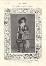 1906 German Emperor Fancy Dress Of Nobleman 1885 Hope Read Joke