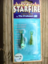 12-Producers Starfire Shad Topaz Jig-GREEN-1/16 OZ WITH SIZE 8 HOOK